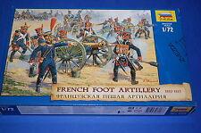 Zvezda 8028 - French Foot Artillery 1810 - 1815  scala 1/72