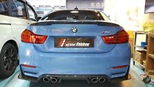FR design carbon fiber trunk tail spoiler rear wing fit for BMW M4 F82 coupe