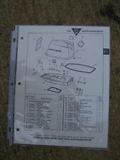 1964 Johnson 5 1/2 HP Outboard CD CDL Parts Catalog MORE BOAT ITEMS  IN STORE  L