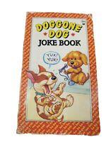 Doggone Dog Joke Book By R.L. Stine Goosebumps Author 1987 Vintage funny