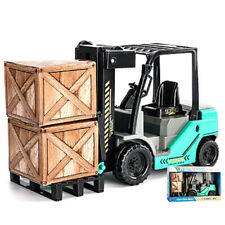 Mini 1:12 Scale Forklift Truck Model Car Construction Vehicle Collection Gift