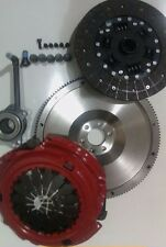 FLYWHEEL AND CARBON NITRID CLUTCH, CSC, BOLTS VW GOLF 1.9TDI 1.9 TDI 4MOTION ARL