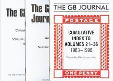 The Gb Journal, Cumulative Index to Volumes 1-36 (1956-1998)