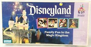 Parker Bros Boardgame Disneyland Game VG