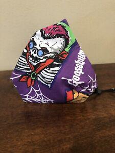 Goosebumps Cloth Face Mask Adjustable Washable and Handmade