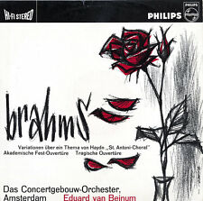 PHILIPS 835013AY Hi-Fi Stereo BRAHMS Haydn Variations Overtures BEINUM $4 ShipWW