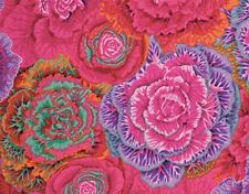 Fat Quarter Kaffe Fassett Brassica RED - Cotton Quilting/Patchwork Fabrics