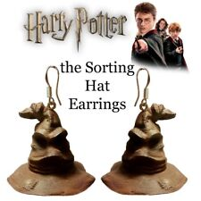 Harry Potter the Sorting Hat Earrings Custom made Sterling silver New