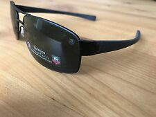 TAG Heuer original Sonnenbrille Titan LRS TH0255-301-62, Schwarz, UVP 600€, Neu!