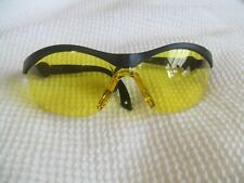 Clay Airsoft Shooting Safety Glasses Low Light Yellow Shatterproof Lenses EN166F