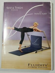 FLUIDITY Fitness Evolved Seat and Thigh DVD Michelle Austin