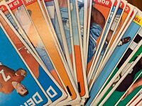 1965 Topps Football Card SINGLES PICK YOUR CARD