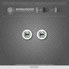 6026 - Coppi Bicycle Handlebar Bar End Plug Stickers - Decals