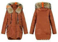 New Winter Coat Long Down Cotton Jacket Ladies Cotton Coat New Fur Hooded Jacket