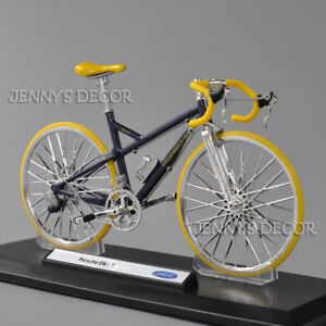 Welly 1:10 Scale Diecast Racing Cycle Cross Road Bicycle Model Porsche Bike R