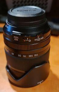 Fujinon XF 18-135 zoom lens, mint condition