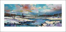 SCOTT NAISMITH (GLEN SPEAN SNOW) PPR41146 ART PRINT 100cm x 50cm