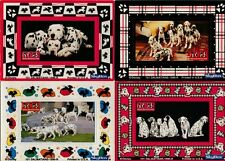 Disney's 101 Dalmations Magnetic Frame Cards Set of Four from SkyBox 1996