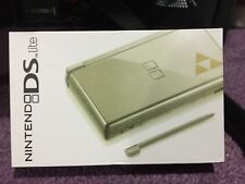 Nintendo DS Lite Legend of Zelda TriForce Edition Gold Handheld System Console