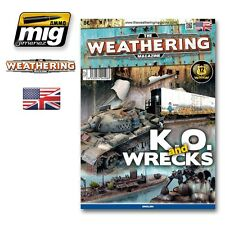 The Weathering Magazine A.MIG-4508 Issue No.9 - Wrecked & Knocked-Out
