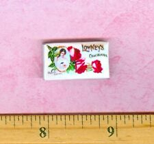 Dollhouse Miniature Size Victorian Candy Box Lowneys