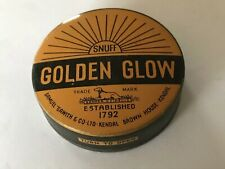 Vintage Samuel Gawith Kendal Snuff Tin 'Golden Glow'