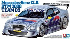 Tamiya 1/24 Modelkit*team D2 Mercedees Benz Dtm Clk 2000 Schneider engine detail