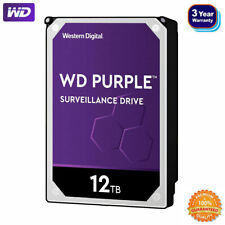 WD Purple 1-12TB Surveillance Hard Disk Drive HDD 7200 RPM SATA 6 Gb/s 256MB Lot
