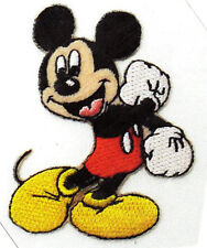 DISNEY-MICKEY MOUSE - IRON ON EMBROIDERED PATCH APPLIQUE/TV, Movie, Cartoons