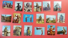 Japan The Return of Ultraman (Kaettekita Ultraman) Card Kaiju Tokusatsu 18 pcs