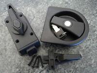 Caraloc 2000 R/H Complete Door Lock Caravan Motorhome