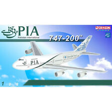 DRAGON 55958 PAKISTAN INTERNATIONAL 747-200 1/400 DIECAST MODEL PLANE NEW