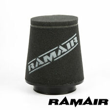 RAMAIR INDUCTION FOAM AIR FILTER UNIVERSAL CONE 80mm OFFSET NECK MADE IN THE UK