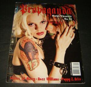 PROPAGANDA Magazine Gothic Chronicle #24 Kembra Pfahler, Rozz Williams 1998