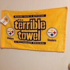 "Original Terrible Towel NFL Pittsburgh Steelers Myron Cope ""DUEL"" Towel"