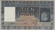 🇳🇱 10 Gulden - 1939 - Niederlande - P-49 🇳🇱