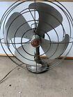 Vintage 1950's GE General Electric Vortalex Antique Art Deco Fan Works