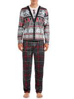 Yeti To Party Ugly Sweater Christmas Pajamas 2 Piece Sleep Set Men's Medium