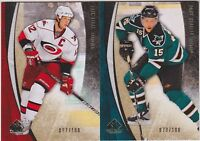 10-11 SP Game Used  Eric Staal /100 GOLD Parallel 2010