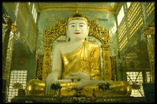 584040 Giant Buddha Yangon Burma A4 Photo Print