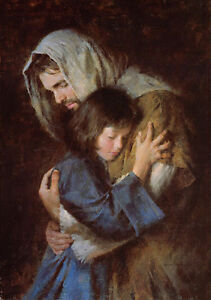 Morgan Weistling THE PROMISE giclee canvas Jesus Christ