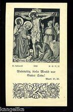 Andachtsbild---Osterbeichte--1928--St. Clemens Kirche zu München-H.Schiestel-