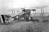 NEW 8x12 WW1 Photo 103rd Aero Squadron - Aircraft and Pilot  1918