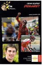 CYCLISME carte cycliste JEAN EUDES DEMARET équipe COFIDIS 2009