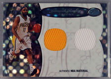 2006 Bowman Elevation Jamaal Tinsley Dual Patch/Jersey 49/99 Indiana Pacers MINT