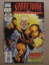 Sabretooth Classic #1 Marvel Comics 1994 Series 9.2 Near Mint-