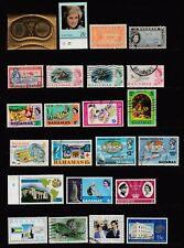 BAHAMAS - 34 Different - Handpicked - Some High Scott Catalog Values - 14 MNH