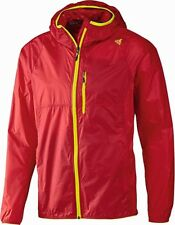BNWT ADIDAS RED CLIMAPROOF WIND JACKET S10159 XL  - FREE P&P RRP £89.99