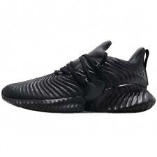 ADIDAS Men's AlphaBounce Instinct M Core Black Sneakers D96805 Size 10.5 NIB