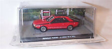 James Bond RENAULT FUEGO A VIEW TO A KILL NEW SEALED Packaged